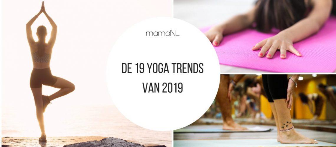 De 19 yoga trends MamaNL
