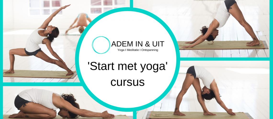 start met yoga cursus